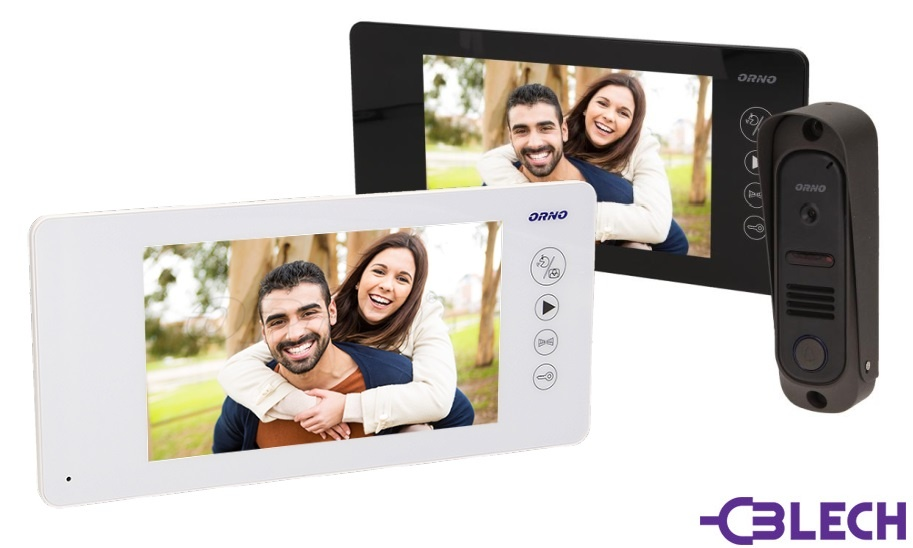 Videodomofon jednorodzinny ORNO Arcus MEMO OR-VID-JS-1040