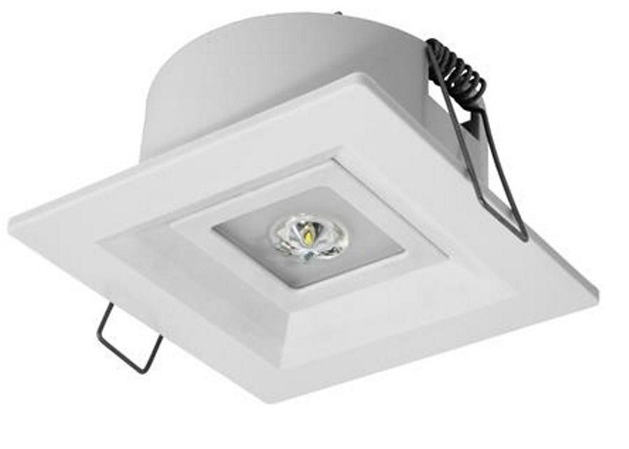 Oprawa awaryjna podtynkowa, jednozadaniowa przestrzeń otwarta power LED LOVATO AWEX