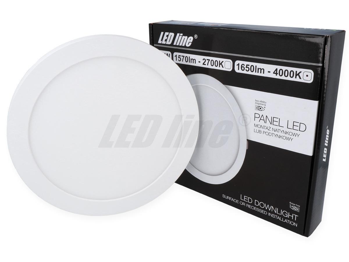 Panel LED line EasyFix 18W 1650lm 4K biała neutralna