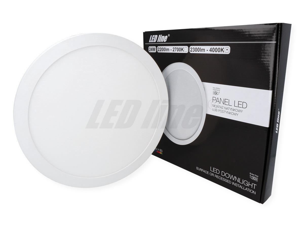 Panel LED line EasyFix 24W 2300lm 4K biała neutralna